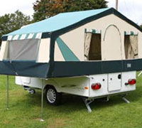 can you hire trailer tents